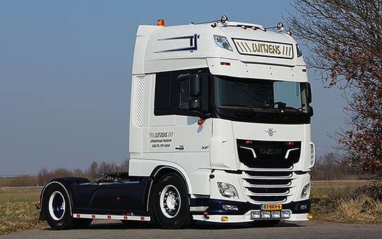 01-2719 - WSI Model Luitjens Int Transport DAF XF Super Space