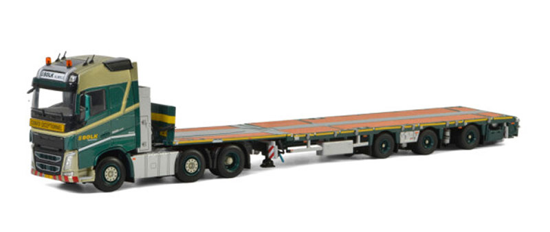 01-2871 - WSI Model Bolk Transport Volvo FH4 Globetrotter 6X2 Twin