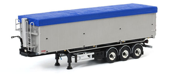 03-1077 - WSI Model Volume Kipper Star 3 Axle Tipper Trailer