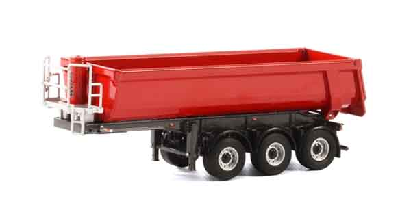 04-1155 - WSI Model 3 Axle Half Pipe Dump Trailer WSI