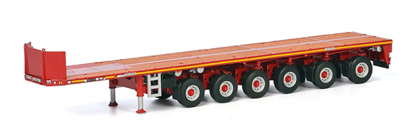 04-1174 - WSI Model Goldhofer 6 Axle Ballast Trailer