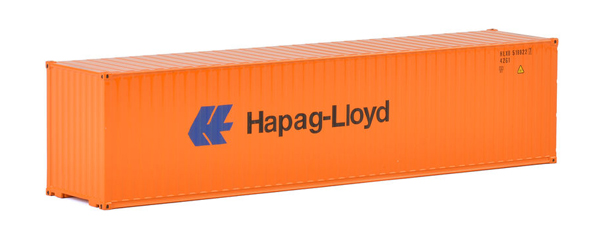 04-2033 - WSI Model Hapag Lloyd 40 Container