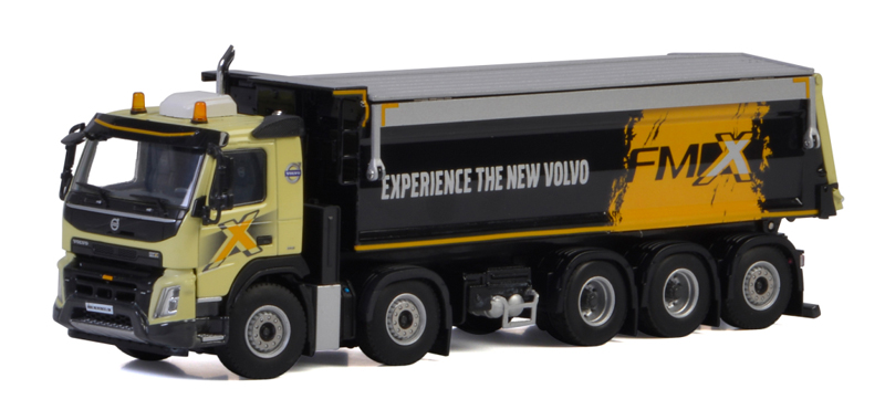 04-2040 - WSI Model Volvo FMX Straight Tipper Truck