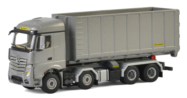 04-2047 - WSI Model Palfinger Mercedes Benz MP4 Actros Stream Space