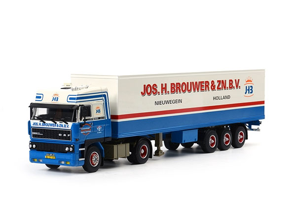 06-1039 - WSI Model Jos H Brouwer DAF 3600 Space Cab