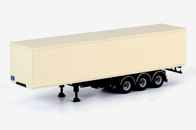17-0002 - WSI Model 3 Axle Classic Box Trailer