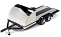 AMERICAN MUSCLE - 1166 - Car Trailer in Black