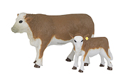 BIG COUNTRY - BC403 - Hereford Cow and