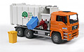 BRUDER - 02761 - MAN Side Loading