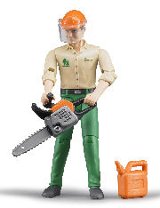 BRUDER - 60030 - Logging Man with