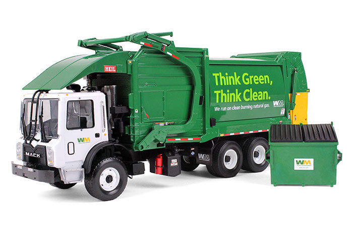 First Gear Replicas Waste Management Mack Terrapro Refuse