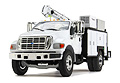 FIRST GEAR - 10-4107 - Ford F-650 in White