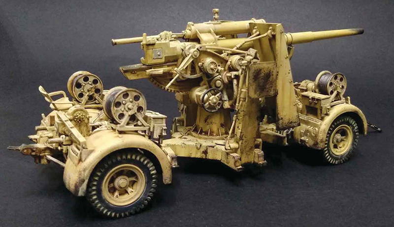 German 50 Mm Anti Tank Gun: Forces Of Valor Flak 36 88mm Anti Tank Gun