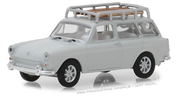1968 Volkswagen Type 3 Squareback: Greenlight Diecast 1968 Volkswagen Type 3 Squareback Panel