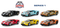 GREENLIGHT - 13200-CASE - Ford GT Racing Heritage