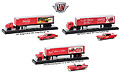 M2MACHINES - 56000-50B01-CASE - Auto-Haulers Coca-Cola
