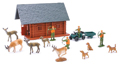 NEW-RAY - 76016B - Bow Hunting SET