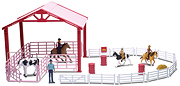 NEW-RAY - SS-37275 - Barrel Racing Corral