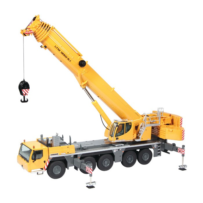 NZG Model Liebherr LTM 1250 51 Mobile Crane