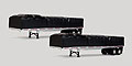 TONKIN - 12-I021-PAIR - Pair of Flatbed