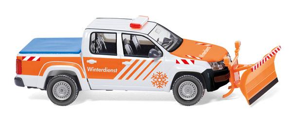 wiking model winter service volkswagen amarok. Black Bedroom Furniture Sets. Home Design Ideas